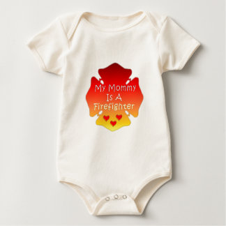 My Mommy Is A Firefighter Romper