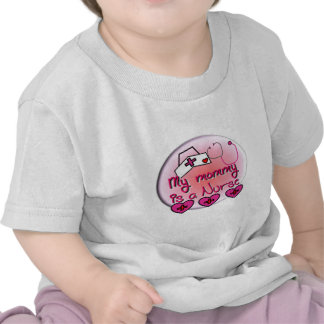 """My Mommy is a Nurse"" Kids T-Shirts"