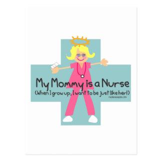 My Mommy is a Nurse Postcard