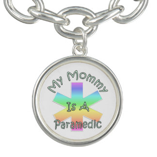 My Mommy Is A Paramedic Charm Bracelets