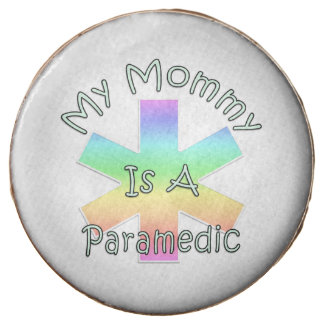My Mommy Is A Paramedic Chocolate Dipped Oreo