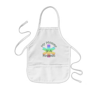 My Mommy Is A Paramedic Kids' Apron