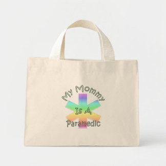 My Mommy Is A Paramedic Mini Tote Bag