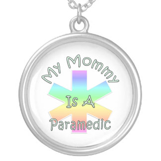 My Mommy Is A Paramedic Necklaces