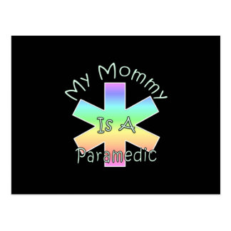 My Mommy Is A Paramedic Postcard