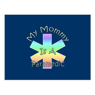 My Mommy Is A Paramedic Postcards