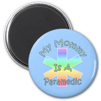 My Mommy Is A Paramedic Refrigerator Magnets