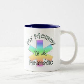 My Mommy Is A Paramedic Two-Tone Coffee Mug