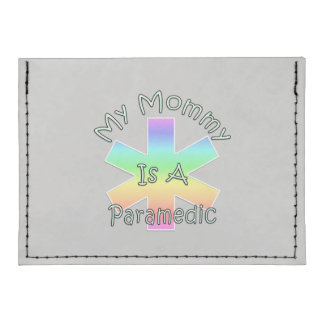 My Mommy Is A Paramedic Tyvek® Card Wallet