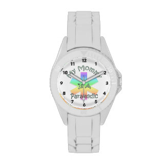 My Mommy Is A Paramedic Wrist Watches