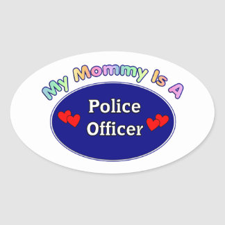 My Mommy Is A Police Officer Stickers