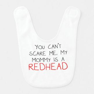 My Mommy Is A Redhead Baby Bib