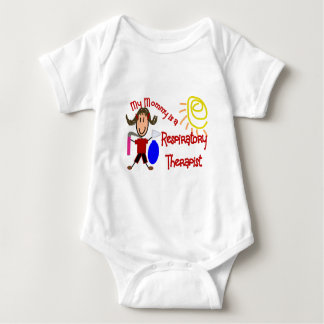 My mommy is a Respiratory Therapist---Adorable Baby Bodysuit