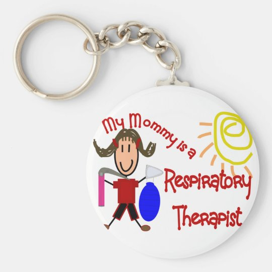 My mommy is a Respiratory Therapist---Adorable Keychain