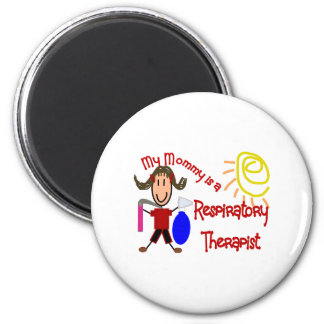 My mommy is a Respiratory Therapist---Adorable Refrigerator Magnets