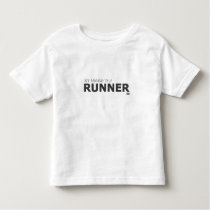 MY MOMMY IS A RUNNER 5K/GYNECOLOGIC-OVARIAN CANCER TODDLER T-SHIRT