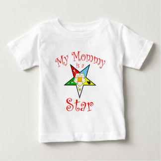 My Mommy is a Star Baby T-Shirt