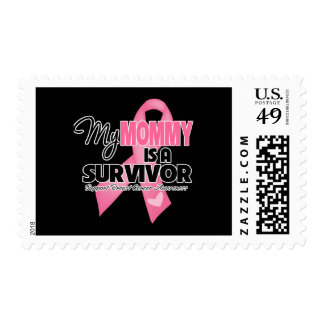 My Mommy is a Survivor - Breast Cancer Postage Stamps