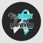 My Mommy is a Survivor - Cervical Cancer Sticker