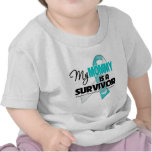 My Mommy is a Survivor - Cervical Cancer Tshirt