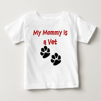 My Mommy is a Vet infant T-Shirt