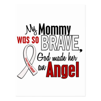 My Mommy Is An Angel Lung Cancer Postcard