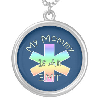 My Mommy Is An EMT Personalized Necklace