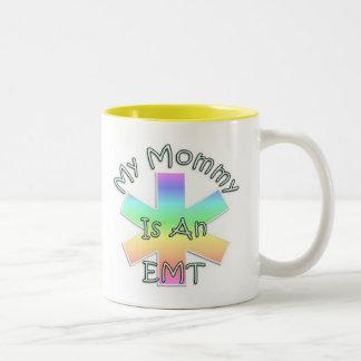 My Mommy Is An EMT Two-Tone Coffee Mug