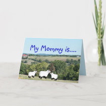 My Mommy is- customize any occasion Card