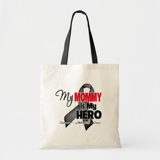 My Mommy is My Hero - Skin Cancer Tote Bag