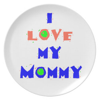My Mommy Plate