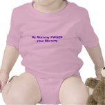 My Mommy PWNED your Mommy Baby Bodysuits