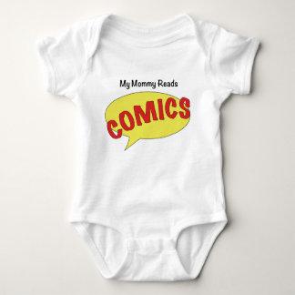 My Mommy Reads Comics Baby Bodysuit