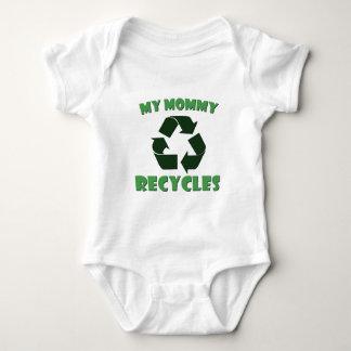 My Mommy Recycles Baby Bodysuit