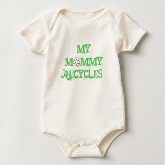 My mommy recycles baby onsie baby bodysuit