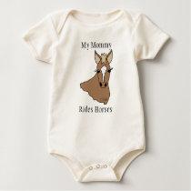 My Mommy Rides Horses T-Shirt