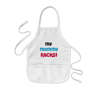 My Mommy Rocks T-shirts and Gifts Kids' Apron
