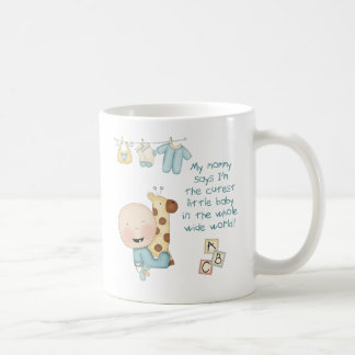My Mommy says I'm the cutest little baby (boy) Coffee Mug