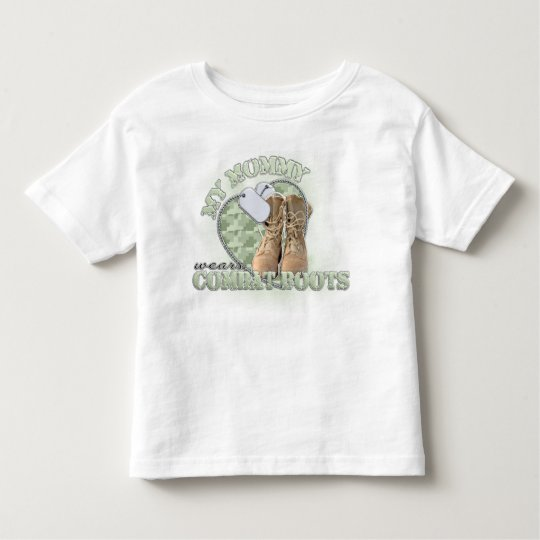 My Mommy wears Combat Boots Toddler T-shirt