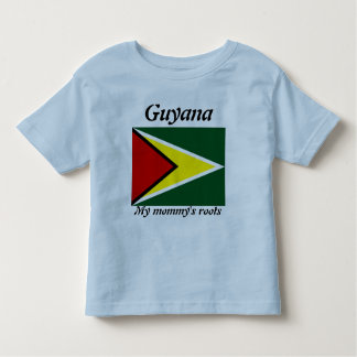My mommy's roots guyana kids t-shirts