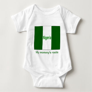 My mommy's roots nigeria baby bodysuit