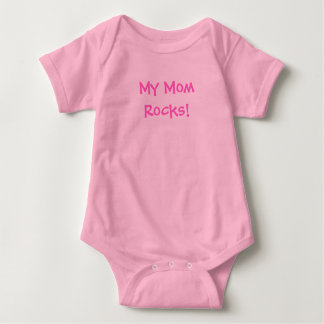 My MomRocks! Baby Bodysuit