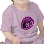 My Mom's 30 pink swirl Tshirt