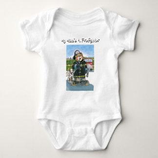 My Mom's A Firefighter - Baby Bodysuit