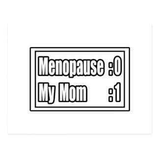 My Mom's Beating Menopause (Scoreboard) Postcard