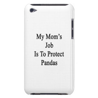 My Mom's Job Is To Protect Pandas Case-Mate iPod Touch Case