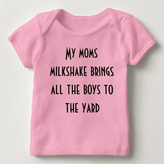 My moms milkshake brings all the boys to the yard baby T ...