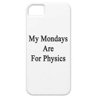 My Mondays Are For Physics iPhone 5 Cover