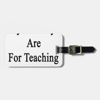 My Mondays Are For Teaching Statistics Luggage Tag