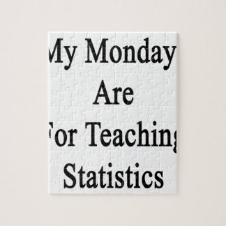 My Mondays Are For Teaching Statistics Puzzle